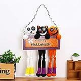 Creative Halloween Dolls Door Hanging Bars Plush Doll Pendants Halloween Decorations Props(54 x 33cm)