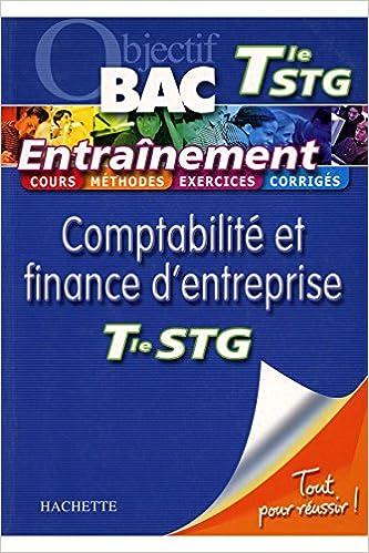 Livre gratuits en ligne Objectif BAC Terminale STG Entraînement Comptabilité / Collectif / Réf18750 pdf epub