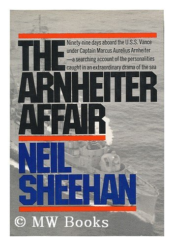 Book cover from The Arnheiter affairby Neil Sheehan