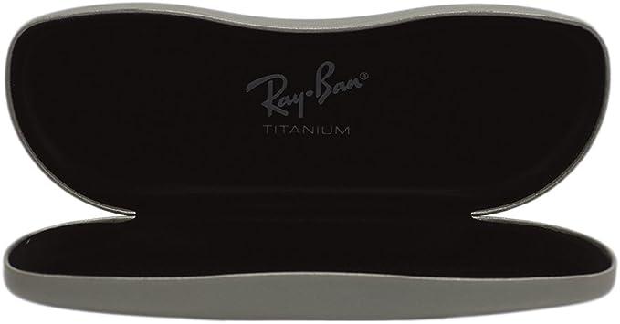 Ray-Ban - Funda de gafas - para hombre gris gris: Amazon.es: Ropa y accesorios