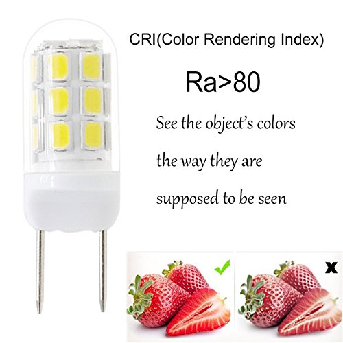 Zeefo G8 Led Bulbs Dimmable 110v 2 5w Warm White 3000k