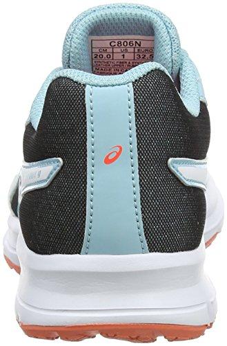 Asics Patriot 9 GS, Zapatillas de Running Unisex Niños Azul (Porcelain Blue/white/flash Coral 1401)