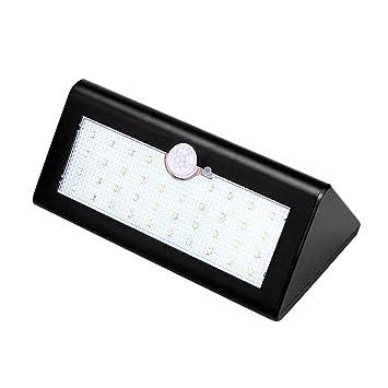 Luces Solares Con Sensor AGM, 38 Luces De Movimiento Con Luz Solar Para Pasarelas Con
