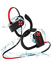 Bluetooth Ohrstöpsel Moffo Bluetooth Kopfhörer, 6-8 Stunden Spielzeit, Bluetooth 4.1, In Ear Kopfhörer mit Mikrofon für iPhone Android Samsung iPad Huawei HTC usw