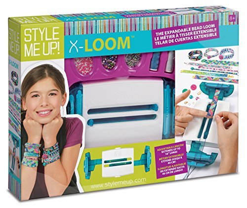 Wooky Entertainment Style Me Up! x -Loom Kit-Adjustable Beads Up to 18'' by Wooky Entertainment (Image #2)