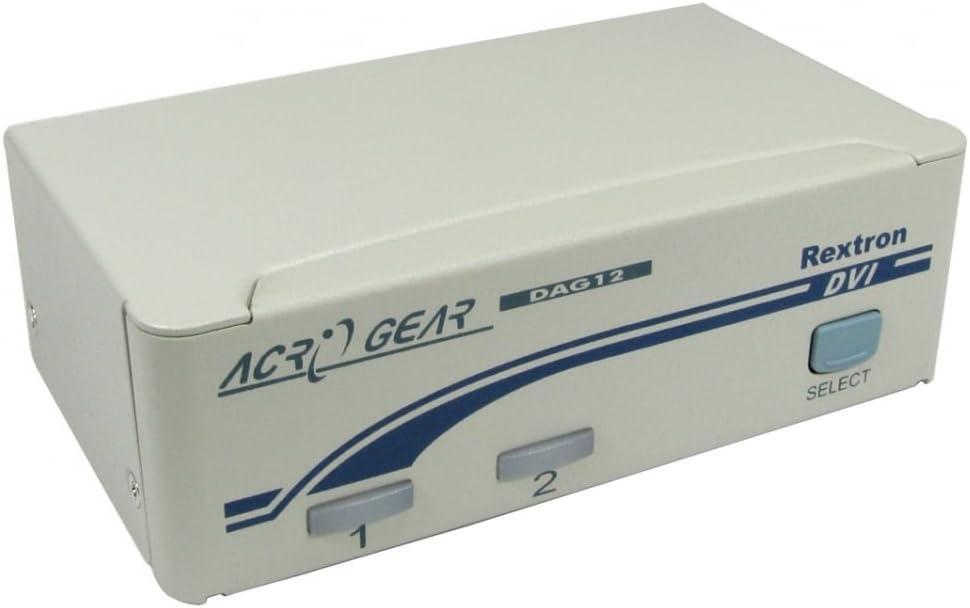 Rextron KVM-DVUSB04-4 PORT AUTOMATIC DVI//USB KVM BEIGE SWITCH BOX