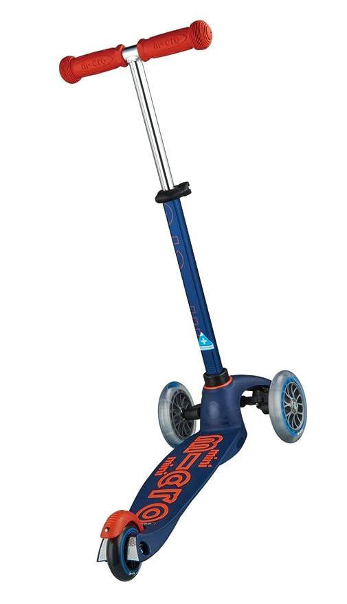 Micro Mobility MMD073 Mini micro Deluxe - Patinete, Color Azul