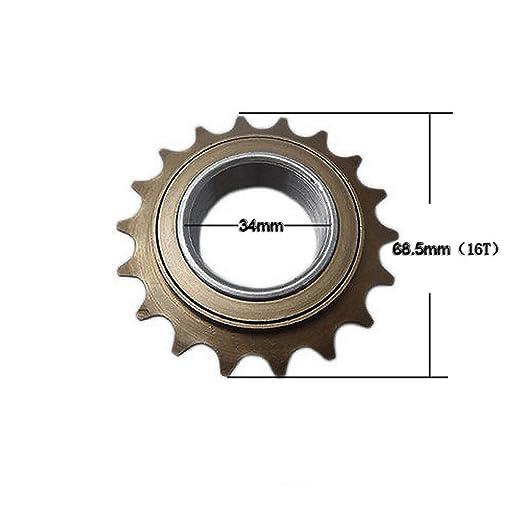BMX Bicycle Bike 16T 34mm Singlespeed Freewheel Sprocket Fixie Flywheel