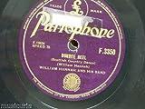 78rpm WILLIAM HANNAH BAND dundee reel / scottish reform