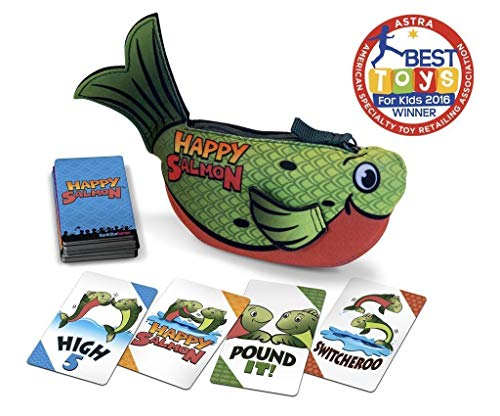 (North Star Games Happy Salmon | Fast Paced Family Card Game )