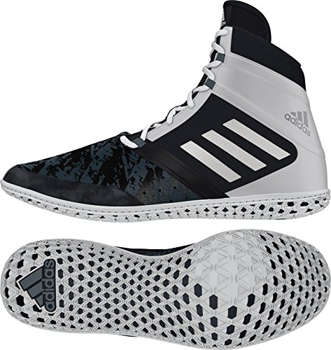 adidas Impact Wrestling Shoes - Black/Silver/White - 8.5 by adidas