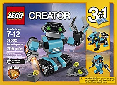 LEGO Creator Robo Explorer 31062 Building Kit by LEGO
