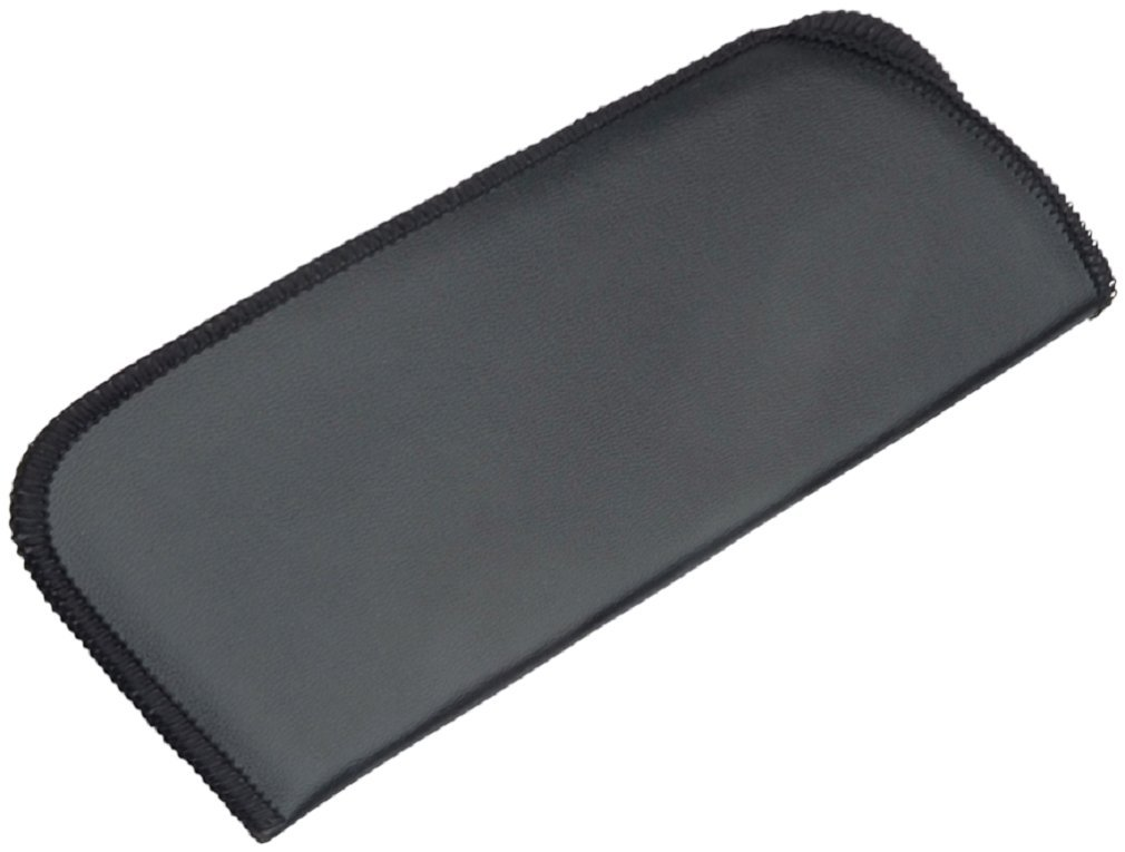 Slip-In Eyeglass Pouch Pocket Black Lightweight Protective Sleeve Case Holster Glasses Eyewear (4)