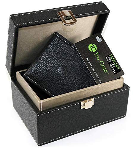 Faraday Box for Car Keys – and Signal Blocker Pouch by Tru Cruz | Keyless Entry Car Key Storage Box Large | Anti-Theft…