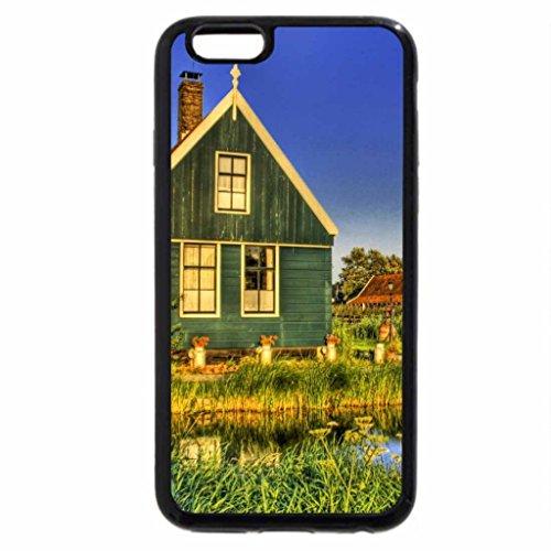 iPhone 6S / iPhone 6 Case (Black) Holland Farmhouse