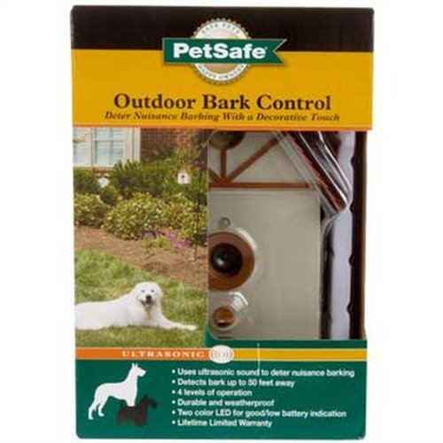 Amazon.com: CONTROL de LADRIDOS en EXTERIOR PETSAFE ULTRASONIC: Health & Personal Care