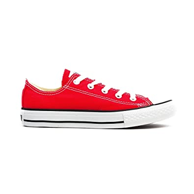 3f9d3fefd38f10 Converse Chuck Taylor All Star Low Top Red 3J236 Youth Size 13.5