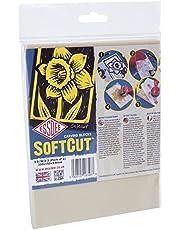 ESSDEE Blocs de Gravure et Sculpture Softcut (200x 150x 3mm, Lot de 2)