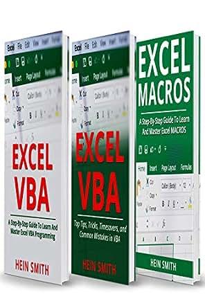 Amazon.com: Excel VBA & Excel Macros: Mastering Excel VBA ...