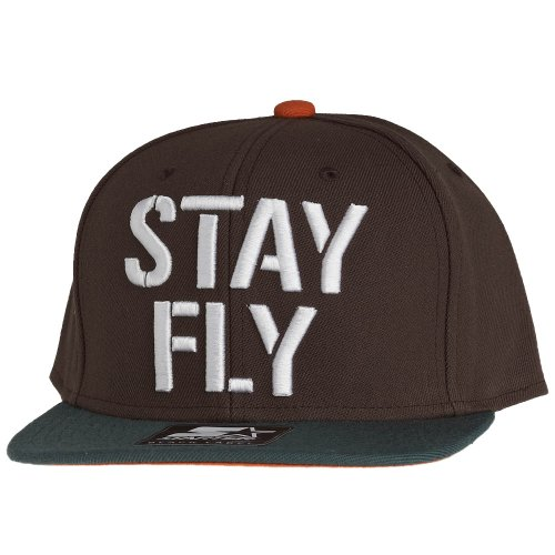 Starter - Casquette Snapback Homme Stay Fly - Brown / Green