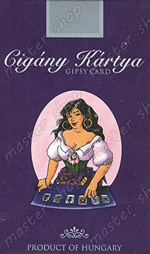 Hungarian Gipsy Fortune Telling Cards (Cigany Kartya) (KVIZ) Cards – January 1, 2008