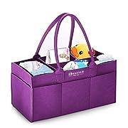Baby Diaper Caddy Organizer Nursery Storage Bin Marnur Storage Caddy for Wipes Toys |Portable Car Organizer |Storage bin for Home|Newborn Registry Must Haves
