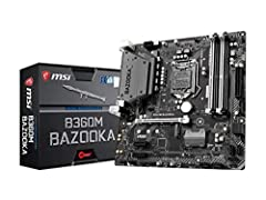 Featuring heavy plated heat sinks and fierce looks, MSI ARSENAL GAMING motherboards are packed with gaming features for a refined gaming experience. Built for hardcore gamers and PC enthusiasts this motherboard is designed to fully utilize th...
