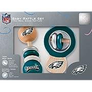 NFL Philadelphia Eagles Baby Rattle Set - 2 Pack
