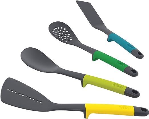 Amazon Com Joseph Joseph Elevate Utensils Set Nylon Multi Colour Set Of 4 Kitchen Dining