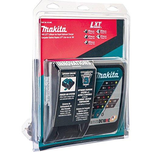 Makita DC18RC 18V Lithium-Ion Rapid Optimum Charger