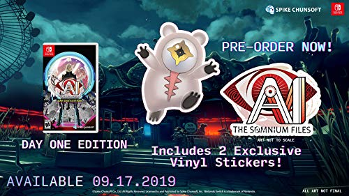 AI: The Somnium Files Day One Edition - Nintendo Switch