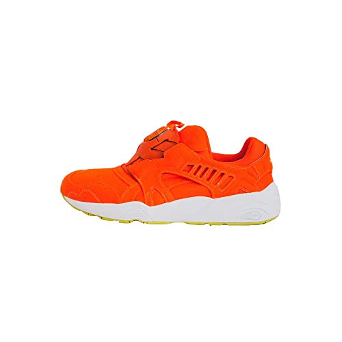 size 40 f81a0 612bd PUMA DISC BLAZE BRIGHT ORANGE WHITE EU 42  Amazon.it  Scarpe e borse