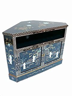 Chinese Oriental Furniture - Mother of Pearl TV Unit: Amazon.co.uk ...