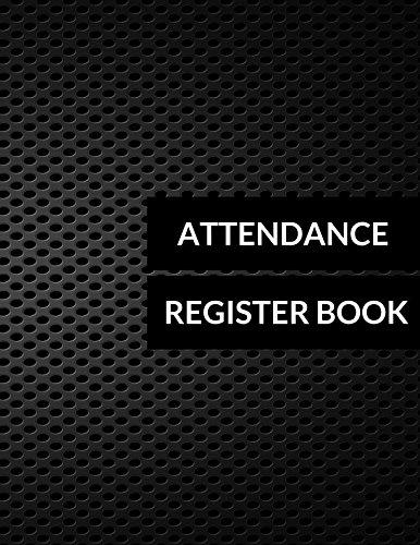 Attendance Register Book -