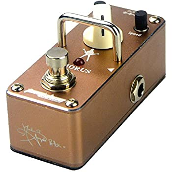 Tom'sline Engineering Analogue Chorus Pedal ACH3S Rich sound Vast range of depth and speed by Michael Angelo Batio signature guitar effect pedal