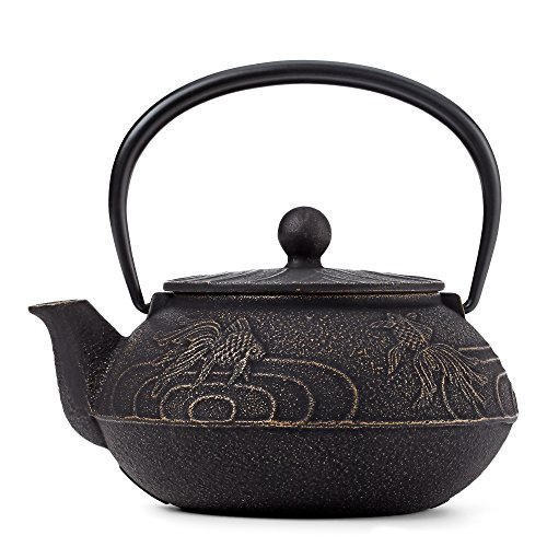 Japanese Goldfish Cast Iron Teapot by Teavana
