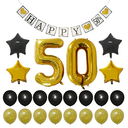 50 years old party supplies - 9