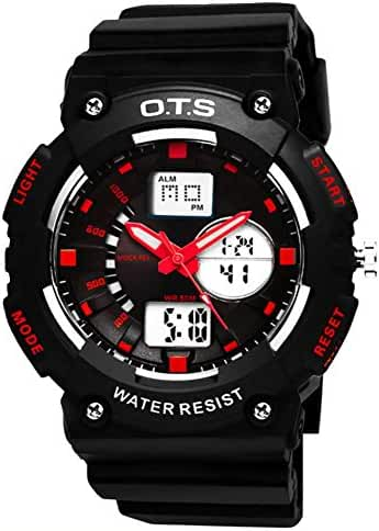 Youth outdoor sports watches/Fashion waterproof night electronic watch-C