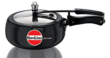 8b0c1af726f Image Unavailable. Image not available for. Colour  Hawkins Contura Hard  Anodized Aluminium Pressure Cooker