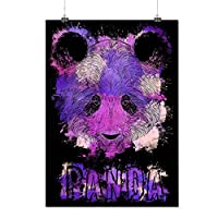 YISUMEI Blanket Comfort Warmth Soft Plush Throw for Couch Purple Panda Splash Bear Color