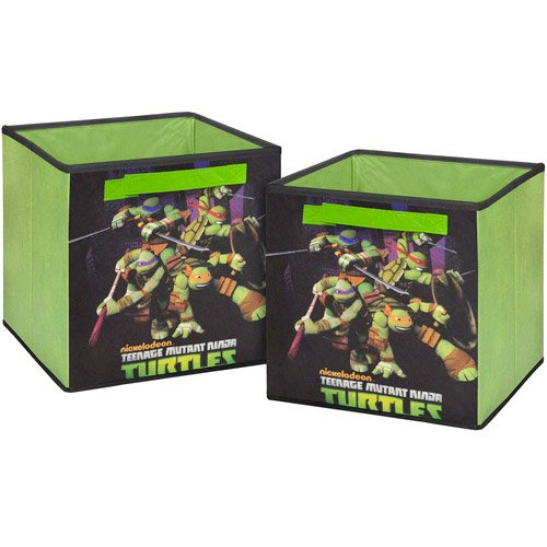 Amazon.com: Teenage Mutant Ninja Turtles 2-Pack Storage Cube ...