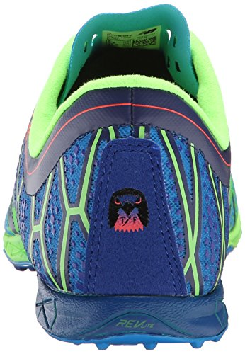 New Balance hombres del mxc900 V2 Spike zapatos Verde, azul
