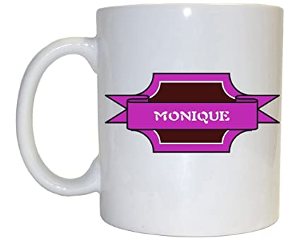 Amazon Com Monique Girl Name Mug Kitchen Dining
