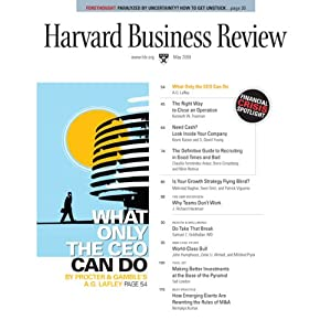 Harvard Business Review, May 2009 Periodical