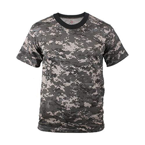 BlackC Sport Digital Camouflage T-Shirt Subdued Urban Digital Camo Military