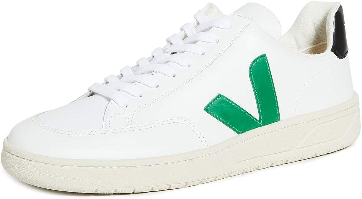Azotado por el viento vistazo Sostener  Amazon.com: Veja V-12 Zapatillas para hombre, Blanco, 8: Shoes