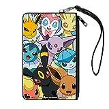 Pokemon Evee Evolves Canvas Zip Wallet