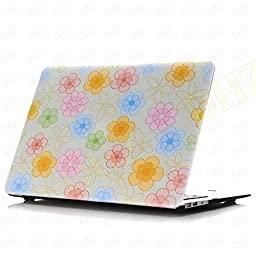 DHZ MacBook Pro 15 Retina Case (NO CD-ROM Drive) - Colorfull Grape Flowers Ultra Slim Plastic Hard Shell Cover For Apple MacBook Pro 15.4\