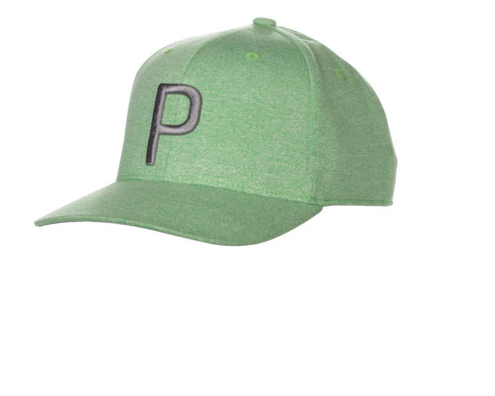 Puma Golf 2018 ''P'' Snapback Hat (One Size), Irish Green