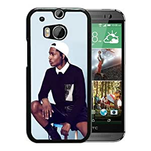 Personalized HTC ONE M8 With ASAP Rocky 2 Black Customized Photo Design HTC ONE M8 Phone Case